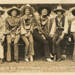 cowgirls-rodeo-vintage sepia