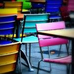 chairs colorful juergen kurlvink_flickr