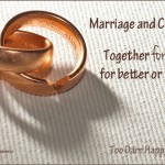 Marriage and career: together forever for better or worse