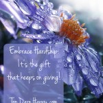 Embrace Hardship: It's the gift that keeps on giving