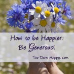 How to be happier: be generous